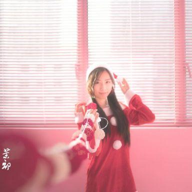 12月17日 复旦软件园 圣诞服 粉红少女主题房间_摄影师江南的返片