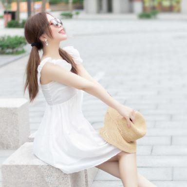 2018-06-03 性感可爱风 街拍 夏都小镇 _摄影师晦恩的返片