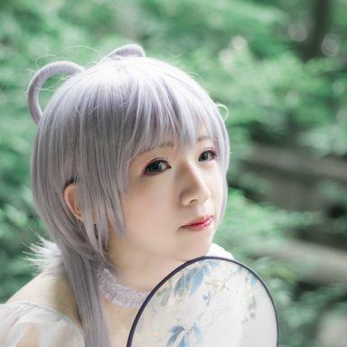 2018-05-27 COSPLAY 角色 洛天依 桂林公园_摄影师晦恩的返片
