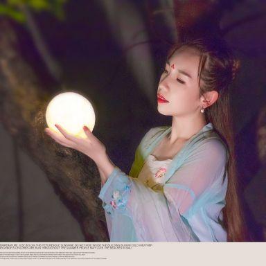 2018-07-07 夜景汉服 静安雕塑公园_摄影师晦恩的返片