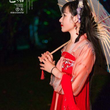 2018-08-03 夜景汉服 静安雕塑公园_摄影师晦恩的返片