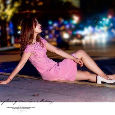 2018-08-22 南京西路夜景街拍_摄影师晦恩的返片