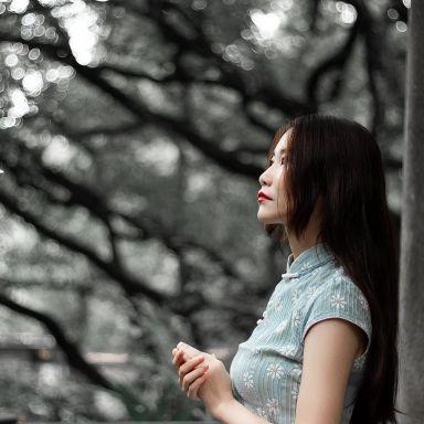 2018-10-20 复兴公园旗袍_摄影师晦恩的返片