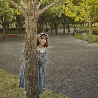 2018-11-03 后滩公园 少女 随拍_摄影师唐杰客的返片