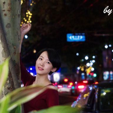 2018-11-13 南京西路夜景街拍_摄影师小植物绿绿的的返片