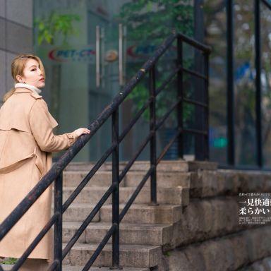 2018-11-25 多伦路文化名人街街拍_模特尤兰达的返片