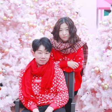 2018-12-09 大悦城 鲜肉情侣拍摄_模特周星妍的返片