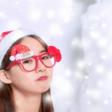 2018-12-09 演员胡静怡性感圣诞服拍摄_摄影师甲骨文人的返片